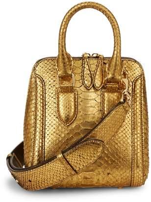 Alexander McQueen Convertible Leather Handbag
