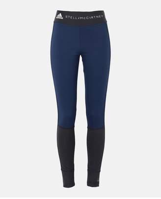 adidas by Stella McCartney Blue Yoga Comf Tight