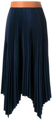 Loewe pleated maxi skirt