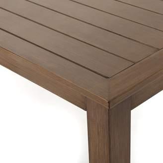 Bronx Ivy Bozarth Outdoor Aluminum Coffee Table