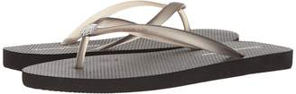 Tommy Bahama Whykiki Flat Solid Women's Toe Open Shoes