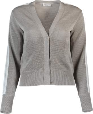 Brunello Cucinelli Snap Cardigan