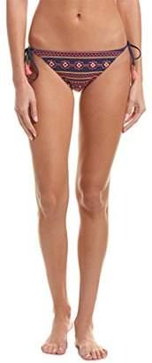Nanette Lepore Women's Side Tie Hipster Bikini Swimsuit Bottom