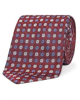 HUGO BOSS Floral Tie