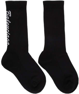 Balenciaga Black Tennis Socks