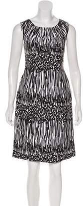 Calvin Klein Linen-Blend Sheath Dress