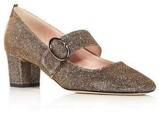 Sarah Jessica Parker Women's Tartt Square-Toe Mid-Heel Pumps