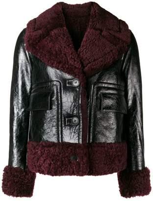 Yves Salomon Meteo shearling lined jacket