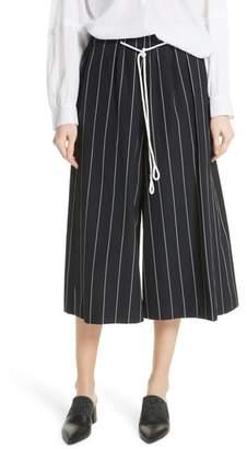 Vince Stripe Cotton Culottes