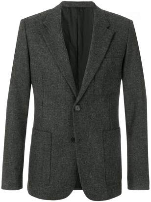 Ami Alexandre Mattiussi Half-Lined Two Buttons Jacket