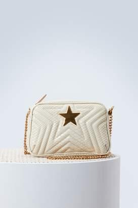 Stella McCartney Snake mini shoulder bag