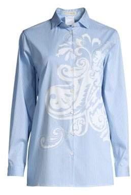 Etro Paisley Stripe Shirt