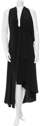 Yohji Yamamoto Silk High-Low Dress w/ Tags $975 thestylecure.com