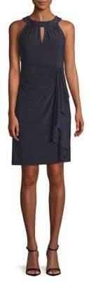 Eliza J Sleeveless Keyhole Front Dress