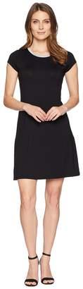 MICHAEL Michael Kors Cap Sleeve Seam Mini Dress Women's Dress