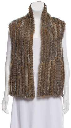 Marc by Marc Jacobs Asymmetrical Fur Vest