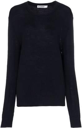 Jil Sander wool loose fit long sleeve jumper