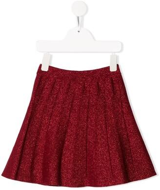 Alberta Ferretti Kids glitter detail skirt
