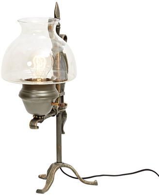 Rejuvenation Faux Wrought Iron Table Lamp