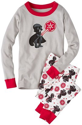 Kids Star WarsTM Long John Pajamas In Organic Cotton $48 thestylecure.com