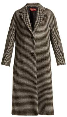 Max Mara Bembo Coat - Womens - Black White