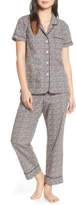 J.Crew Ditsy Dot Short Sleeve Pajama Set