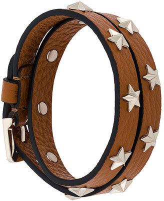 RED Valentino star studded bracelet