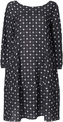 Aspesi square print dress