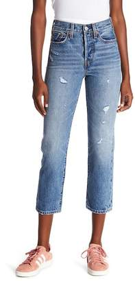 Levi's Wedgie High Waist Straight Jeans (Before Dawn)