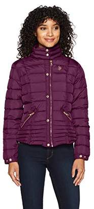 U.S. Polo Assn. Women's Quilted Moto Jacket