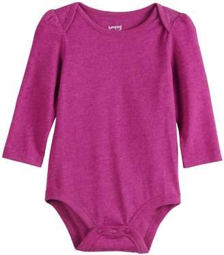 Baby Girl Jumping Beans Envelope-Neck Bodysuit