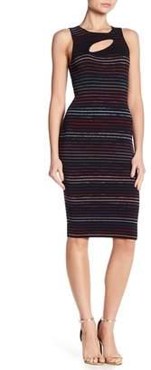 Rachel Roy Cutout Sweater Midi Dress