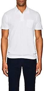 Sunspel Men's Riviera Cotton Polo Shirt - White