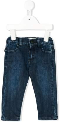 Fendi rear ruffle trim jeans