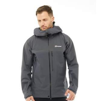 Berghaus Mens Extreme 5000 Three Layer GORE-TEX Jacket Carbon