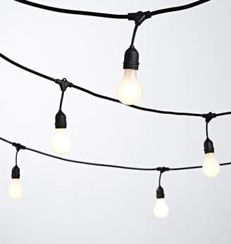 Rejuvenation 24 A19 White Bulb String Lights