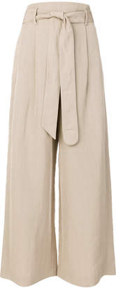 Akris wide leg trousers