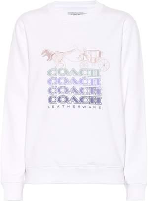 Coach Embroidered cotton sweatshirt