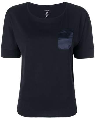 Marc Cain silk chest pocket T-shirt