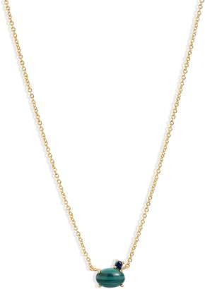 Gorjana Hudson Stone Pendant Necklace