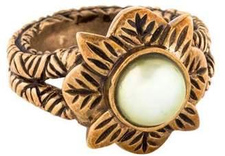 Stephen Dweck Mabé Pearl Flower Ring