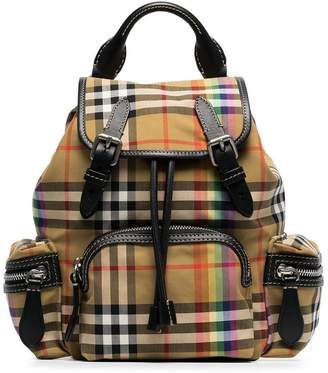 Burberry vintage check and rainbow rucksack