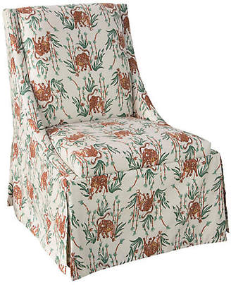 One Kings Lane Jody Skirted Side Chair