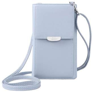 2078c1babfd0 Prettyzys Fashion Wallet Women Mini Crossbody Bag Cell Phone Pouch Small  Handbag Card Holder Coin Purse
