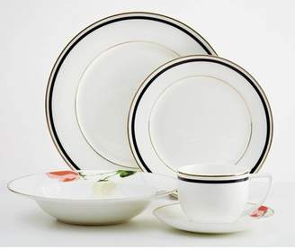 Red Barrel Studio Jacqualine Flower 20 Piece Dinnerware Set, Service for 4