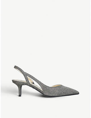 MICHAEL Michael Kors Eliza Flex fabric and leather slingback pumps