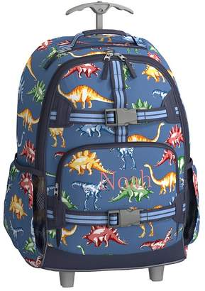 Pottery Barn Kids Mackenzie Blue Multicolor Dino Lunch Bags