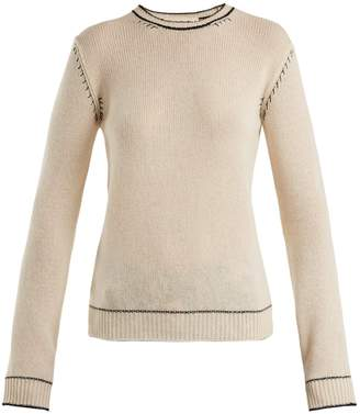 Marni Whipstitched cashmere sweater