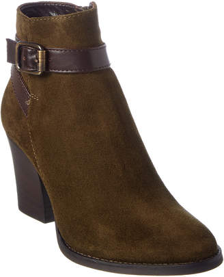 Aquatalia Farley Waterproof Leather & Suede Bootie