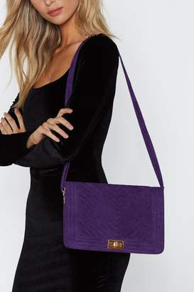Nasty Gal WANT Quilt the Bullshit Crossbody Bag